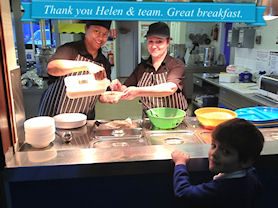 Thank you Helen and team. Great breakfast.